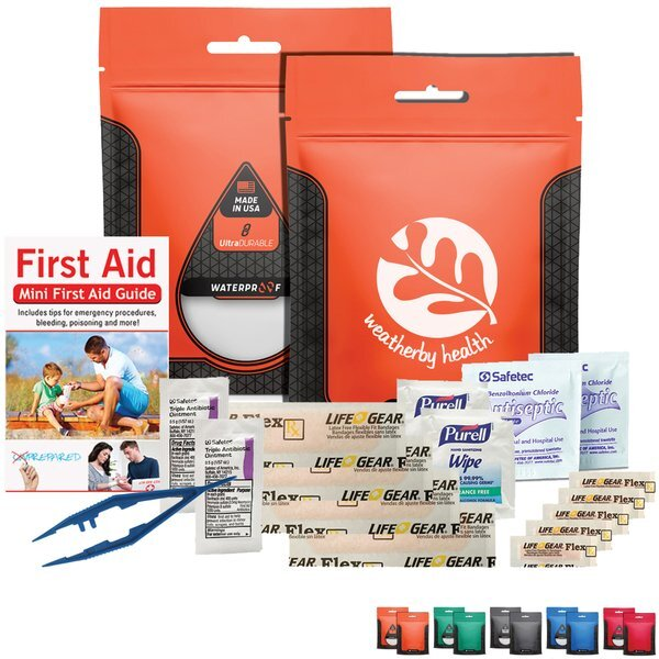 Deluxe First Aid Kit in Waterproof Pouch