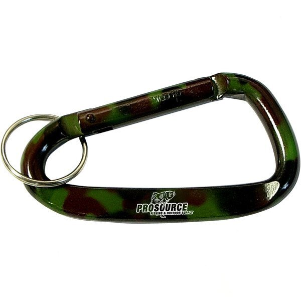 Camouflage Carabiner Key Ring