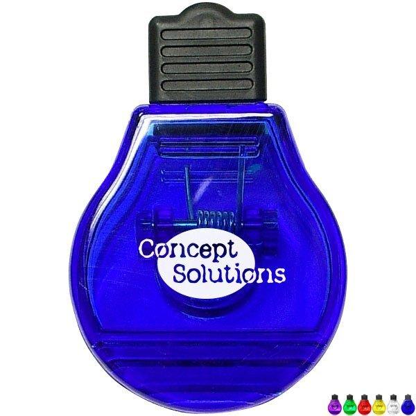 Light Bulb Magnetic Memo Clip