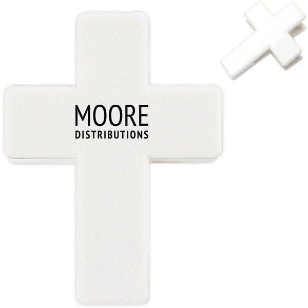 Cross Shape Magnetic Memo Clip