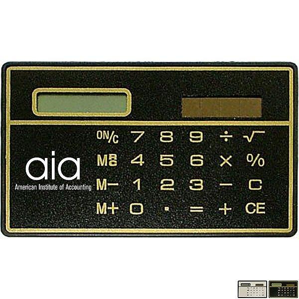 Ultra Thin Solar Calculator