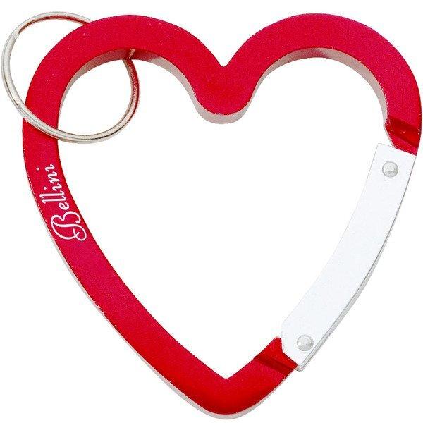 Heart Carabiner Key Ring