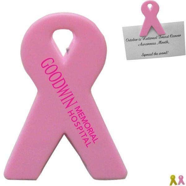 Awareness Ribbon Magnetic Memo Clip