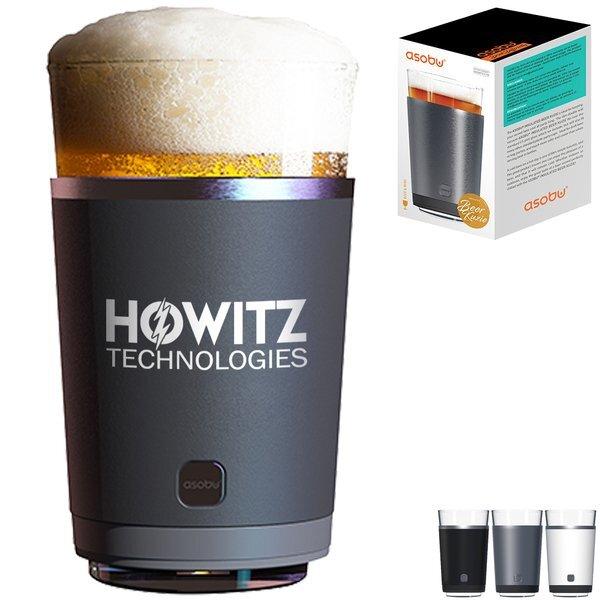 Asobu® Stainless Steel Beer Kuzie & Pint Glass, 16oz.
