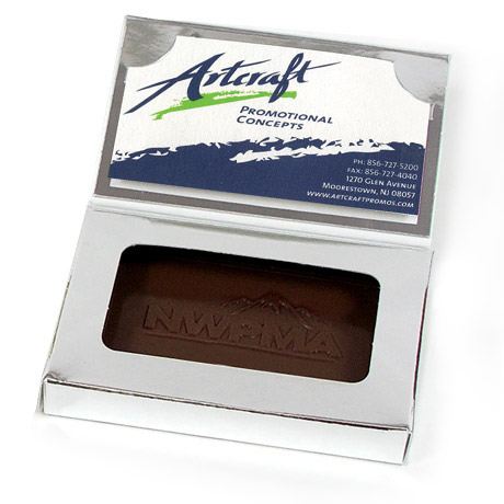 Business Card Chocolate Bar