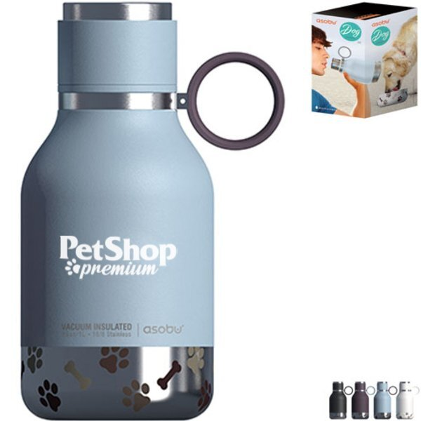 Asobu® Stainless Dog Bowl Bottle, 33oz.