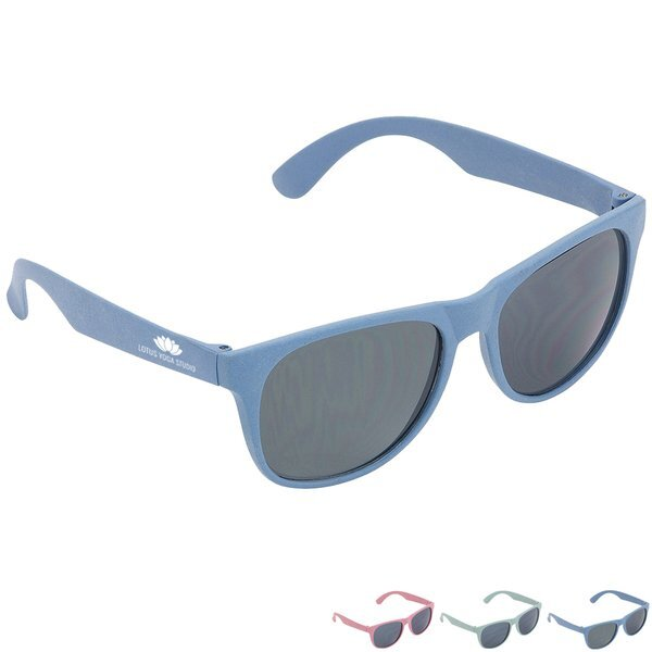Doral Eco-Friendly Wheat Straw Sunglasses