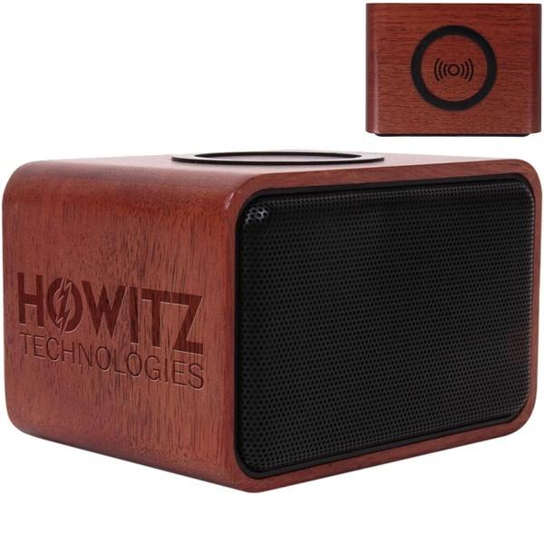 Ashbourne Bluetooth Speaker & Wireless Charging Pad, 5W