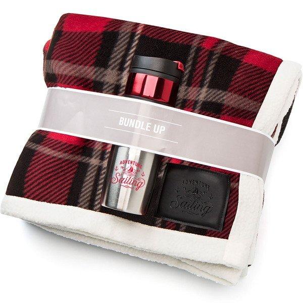 "Bundle Up Blanket Gift Set, 50"" x 60"""