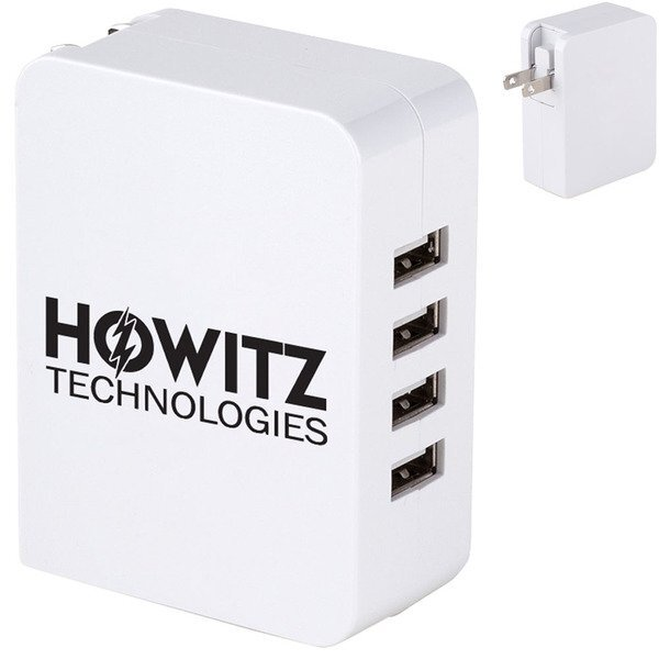 Mountain View 4-Port USB Wall Charger