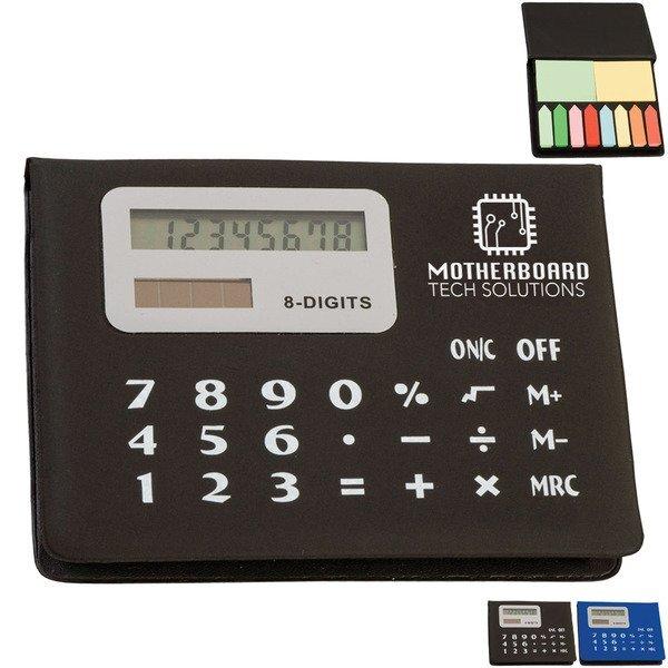 Calculator Sticky Note & Flag Organizer