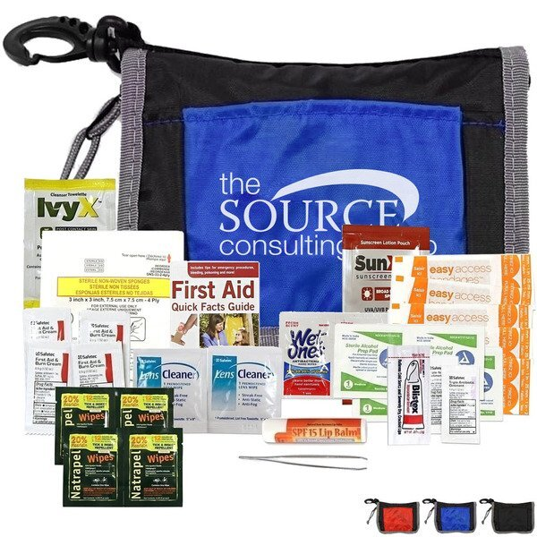 Gold Outdoor Sun & Bug First Aid Kit