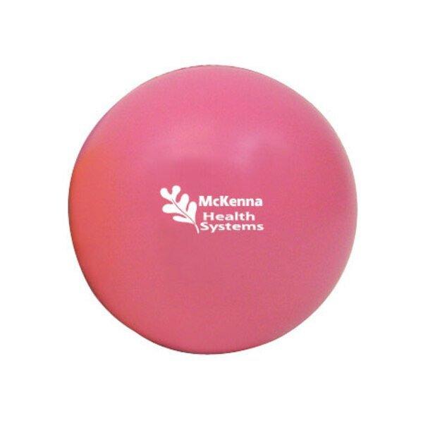 Round Stress Ball - Pink