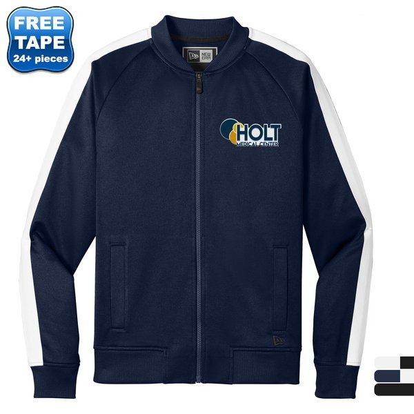 New Era® Cotton/Poly Men's Track Jacket