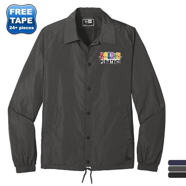 New Era® Polyester Unisex Coach's Jacket