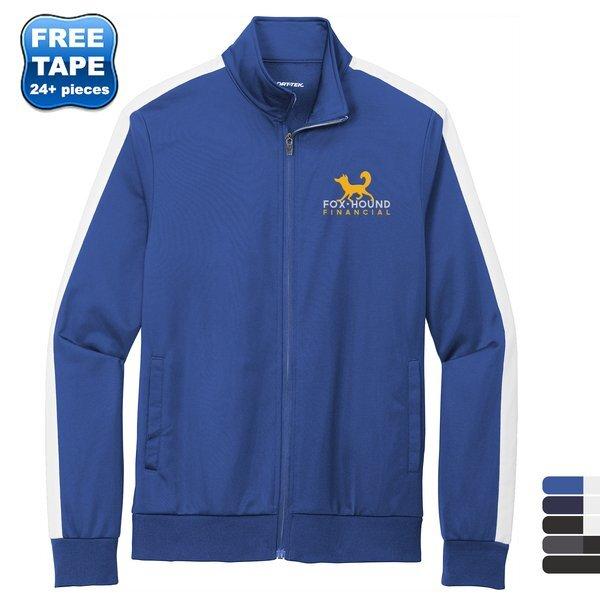 Sport-Tek® Tricot Men's Track Jacket