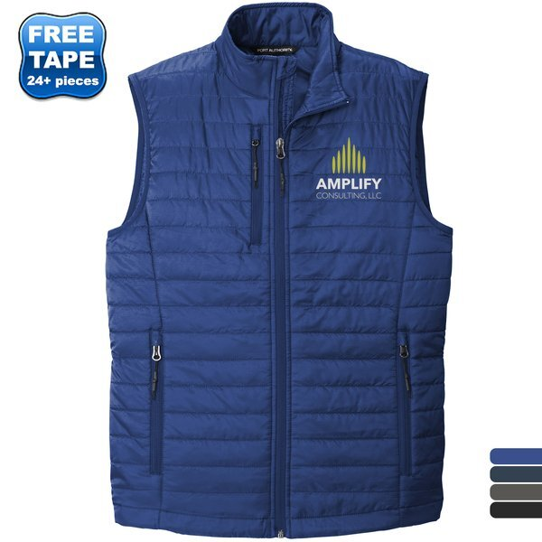 Port Authority® Packable Polyester Men's Puffy Vest