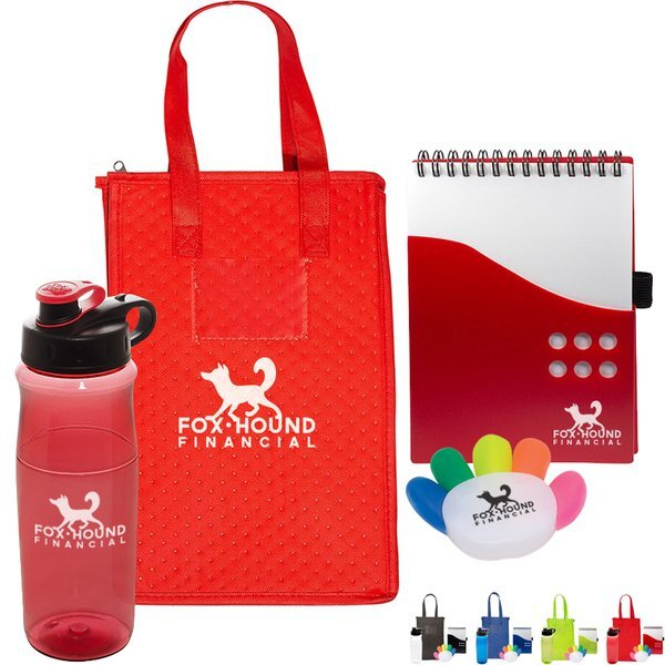 School From Home Lunch Cooler Kit