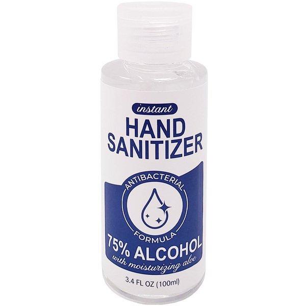 Antibacterial Moisturizing Gel Hand Sanitizer with Flip Cap, 3.4oz. IN STOCK