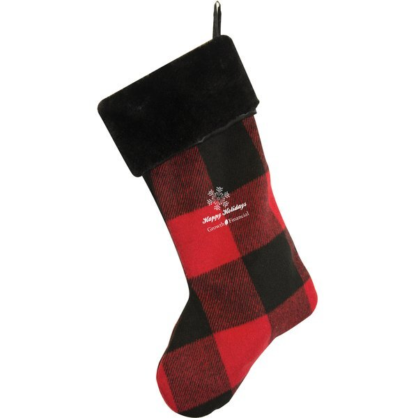 Cringleprize Plaid Stocking