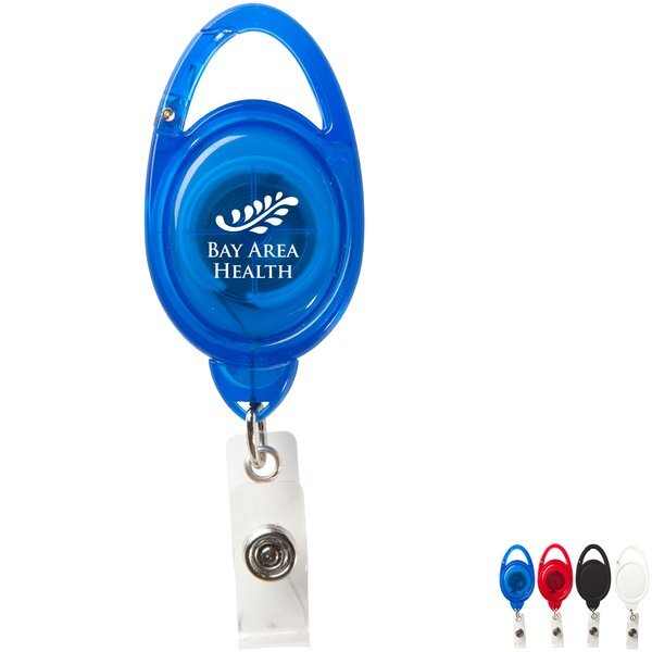 Clip-on Secure-a-Badge™ Retractable Badgeholder