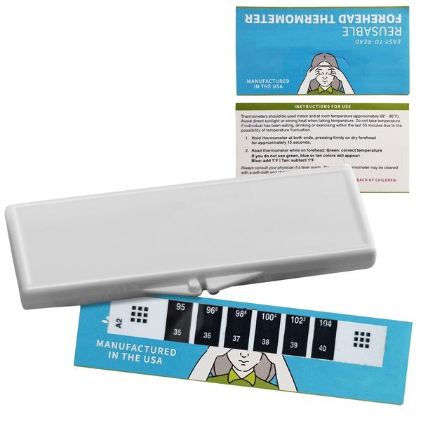 Reusable Forehead Thermometer in Case, Stock - IN STOCK