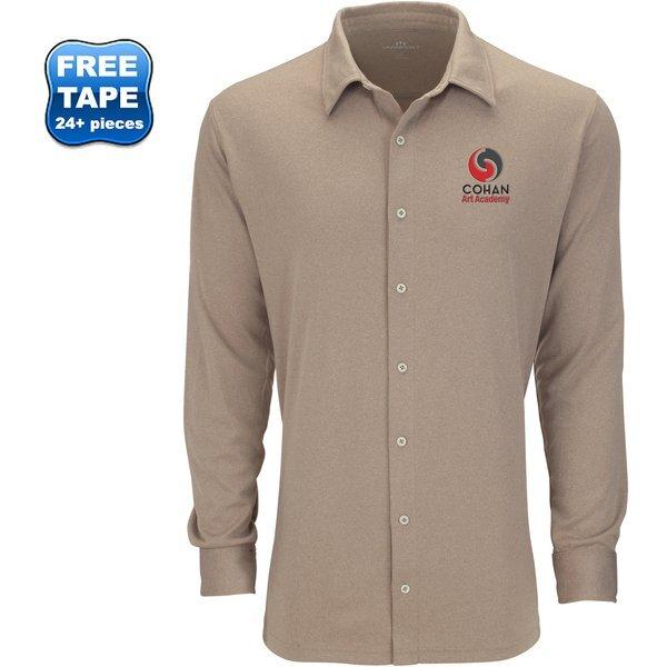 Vansport™ Eureka Polyester Long Sleeve Men's Shirt