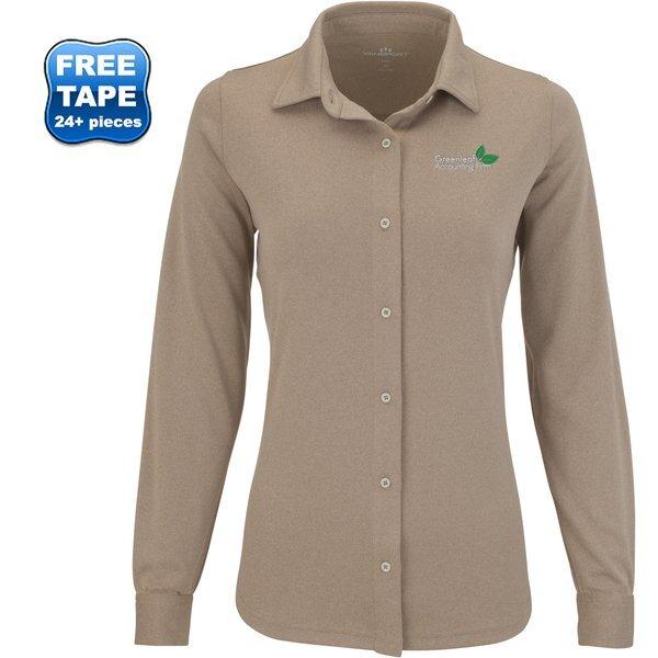 Vansport™ Eureka Polyester Long Sleeve Ladies' Shirt