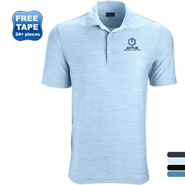 Greg Norman® Play Dry® Heather Solid Men's Polo