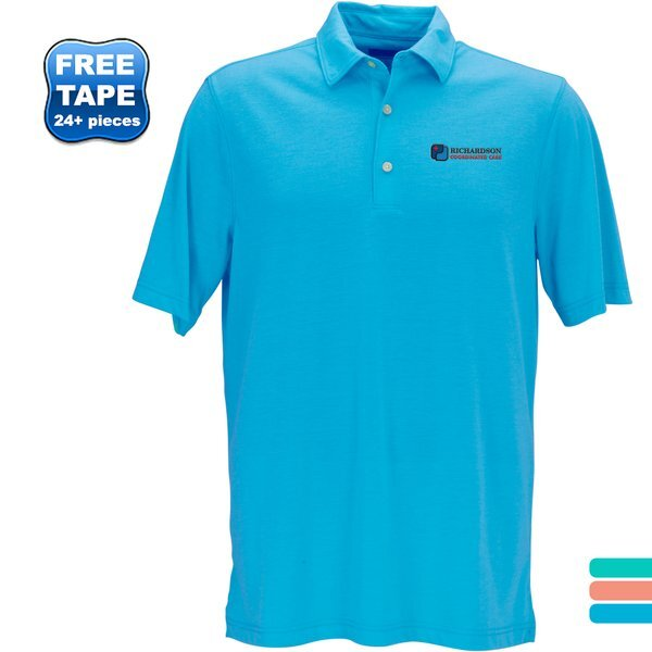 Greg Norman® Play Dry® Foreward Series Men's Polo