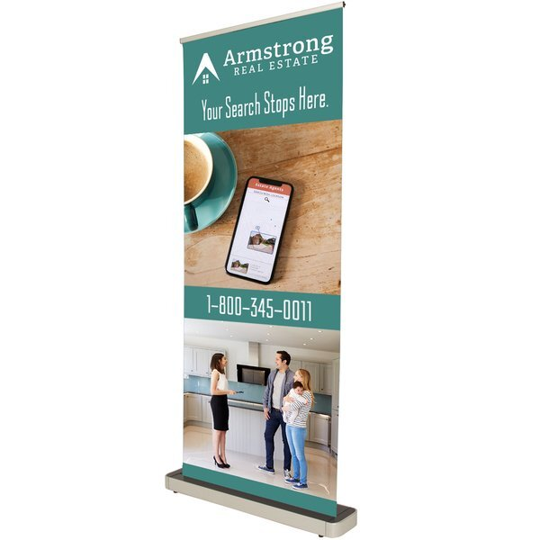 Stellar Retractor Opaque Fabric Banner Kit