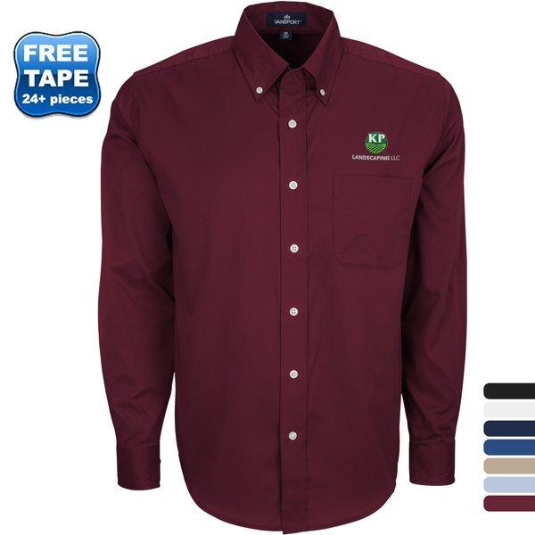 Vansport™ Wicked Woven® Cotton Poly Men's Dress Shirt