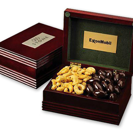 Confections Deluxe Wood Gift Box