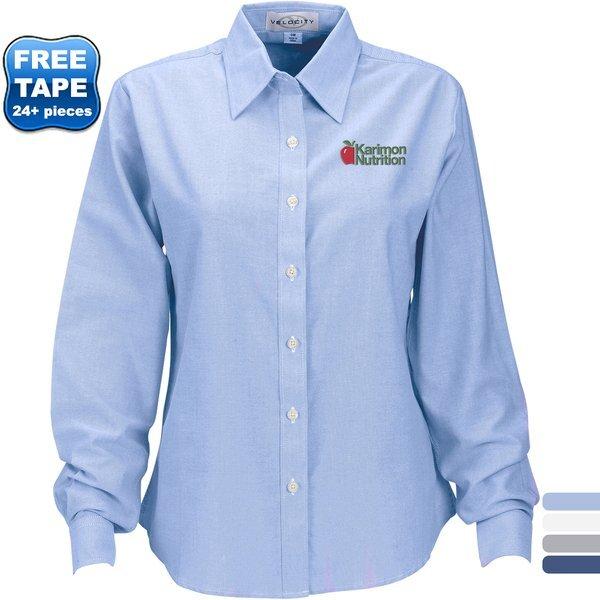 Velocity Repel & Release Ladies' Oxford Shirt