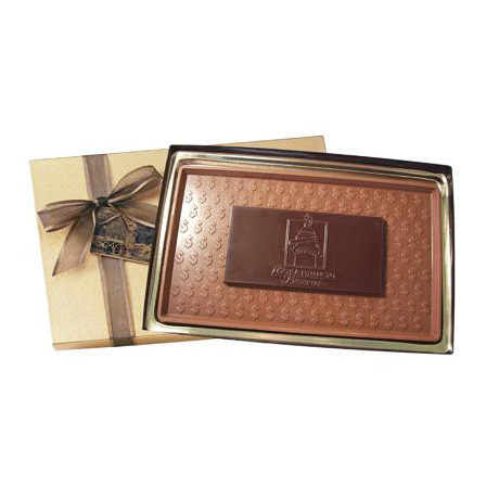 Milk and Dark Chocolate Bar, 8oz.
