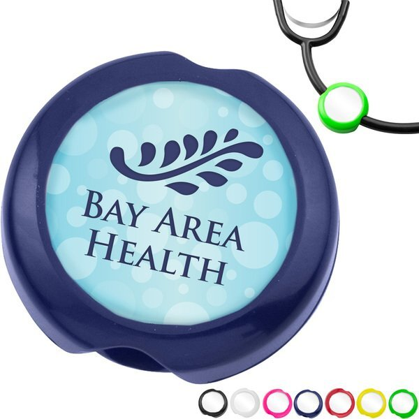 Anti-Microbial Saucer Stethoscope ID Tag
