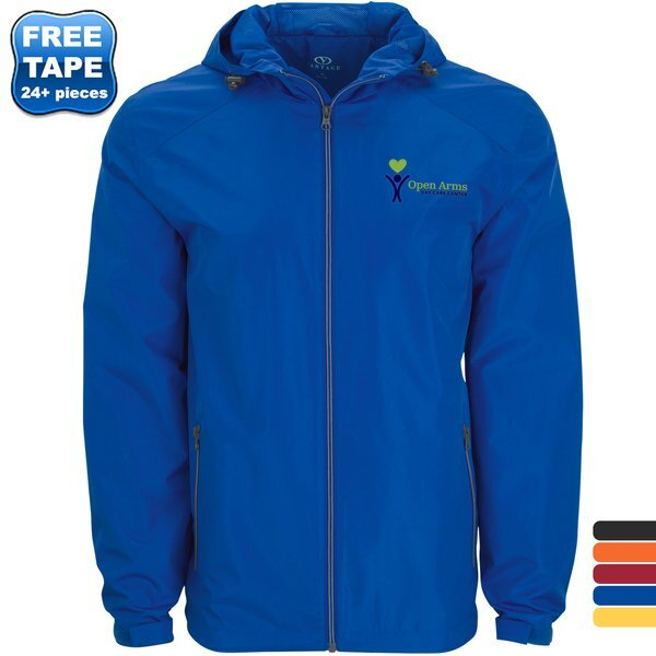 Newport Waterproof Packable Windproof Men's Rain Jacket
