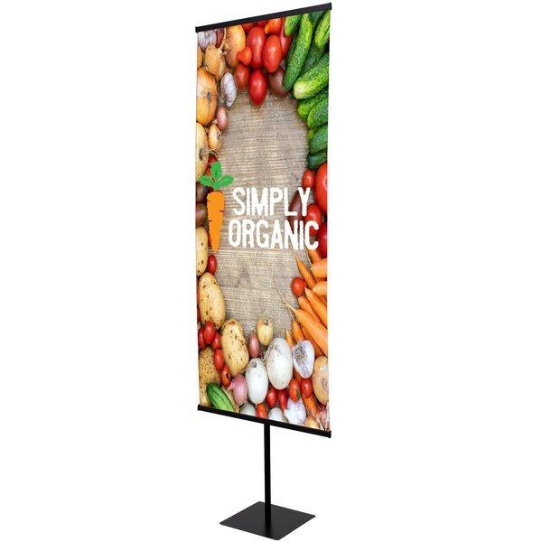 "Everyday Snap Rail Banner Display Kit, 30"""