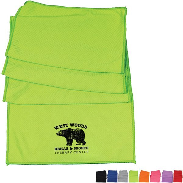 Soft Polyester Cooling Towel