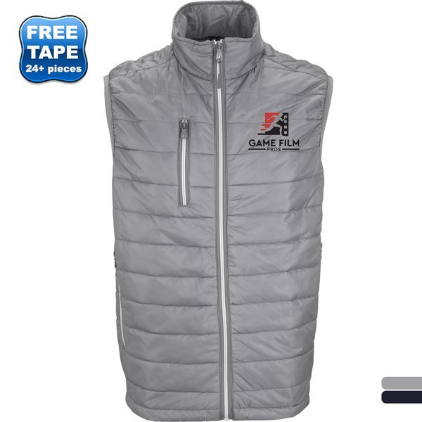 Apex Water-Repellent Compressible Quilted Men's Vest