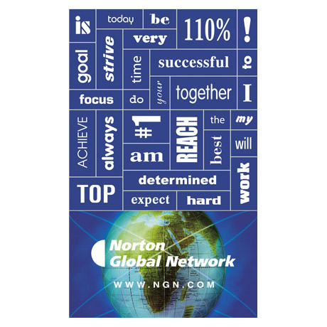 Motivational 30 Words Message Magnet