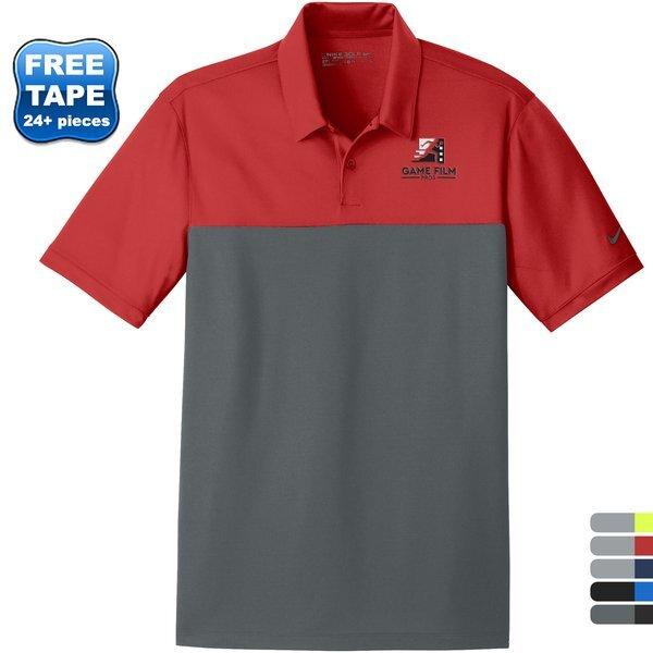 NIKE® Dri-FIT Colorblock Micro Pique Men's Polo
