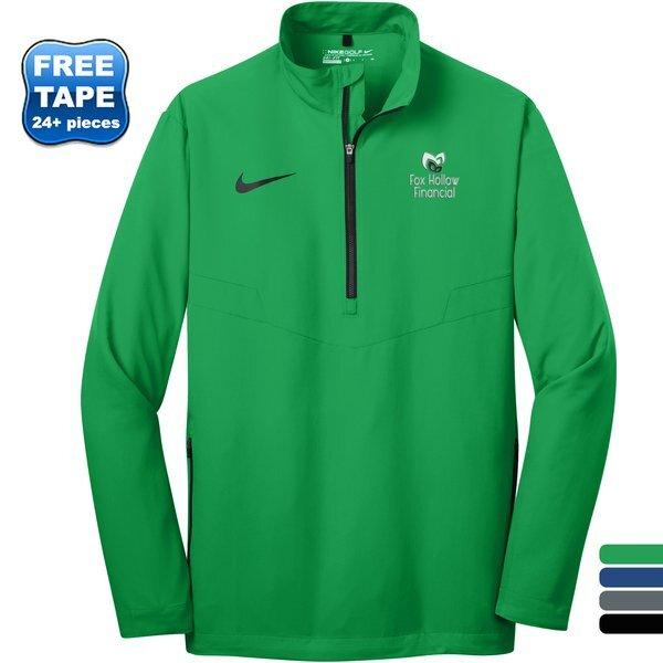NIKE® 1/2 Zip Polyester Men's Wind Shirt