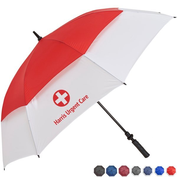 "Challenger Auto Open Golf Umbrella, 62"" Arc"