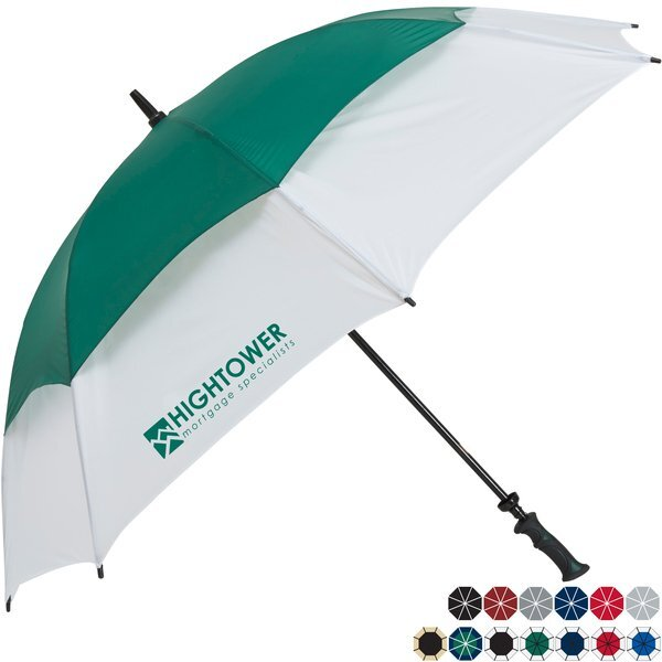 "Challenger II Manual Open Golf Umbrella, 62"" Arc"