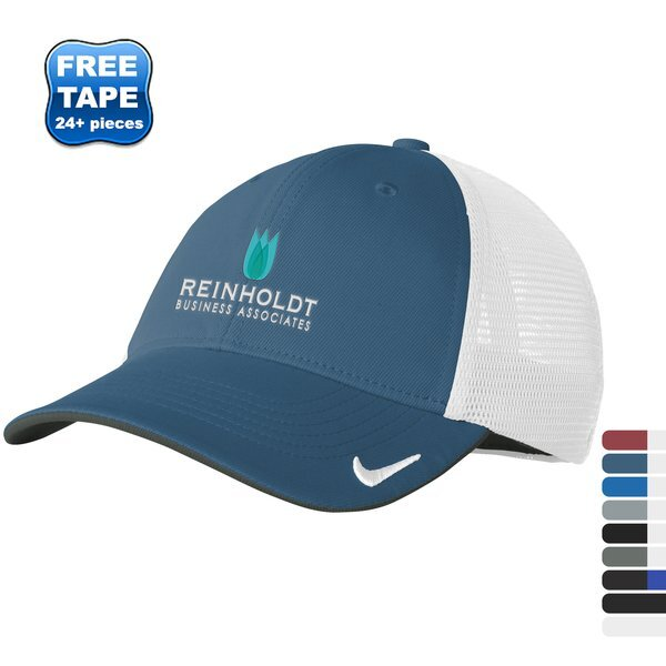 NIKE® Dri-FIT Mesh Back Structured Fitted Cap