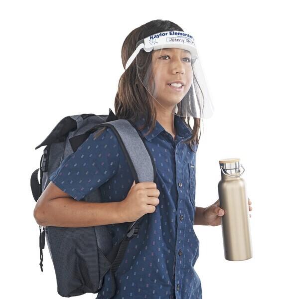 Kids Reusable Protective Plastic Face Shield