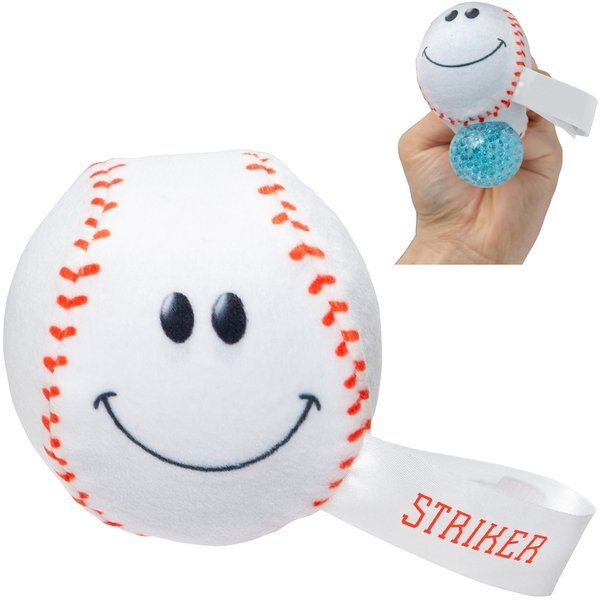 Baseball Plush and Gel Stress Buster™