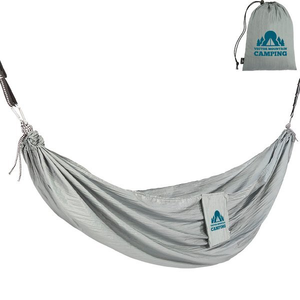 High Sierra Packable 2-Person Hammock with Straps