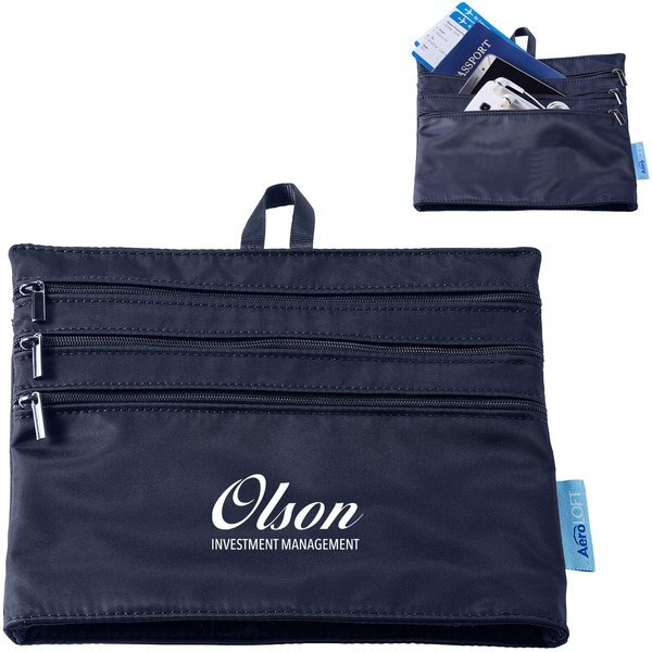 AeroLOFT™ Four-Pocket Nylon Zip Organizer
